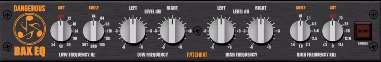 Dangerous Music BAX EQ - Patchrat App
