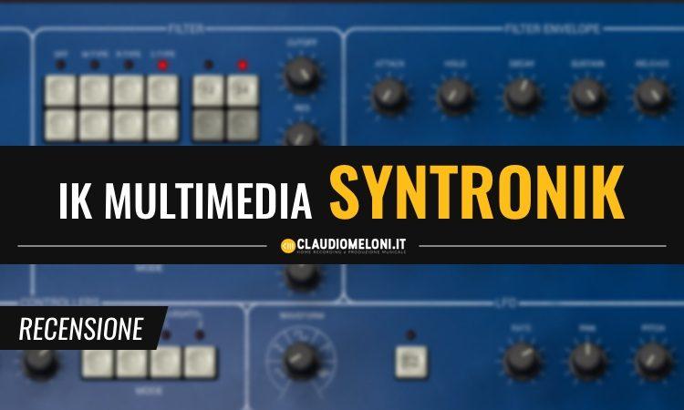 IK Multimedia Syntronik recensione