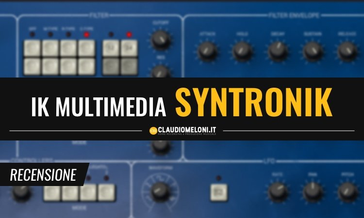 IK Multimedia Syntronik recensione