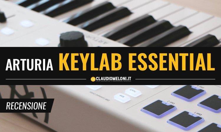 Arturia KeyLab Essential - Controller MIDI - Recensione