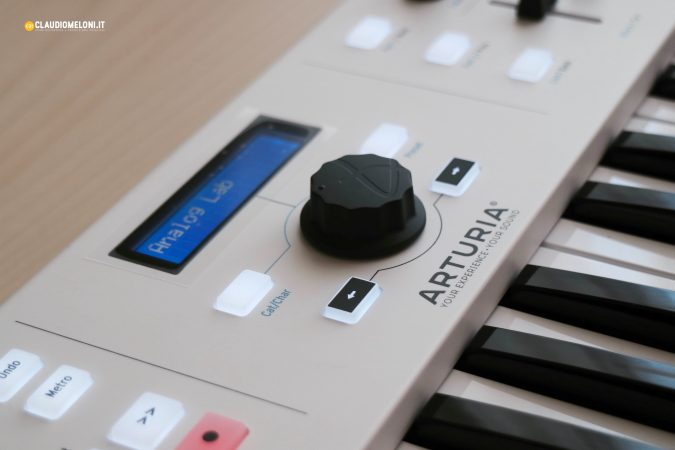 Arturia KeyLab Essential - display