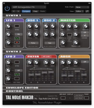 Togu Audio Line _ TAL Noise-Maker