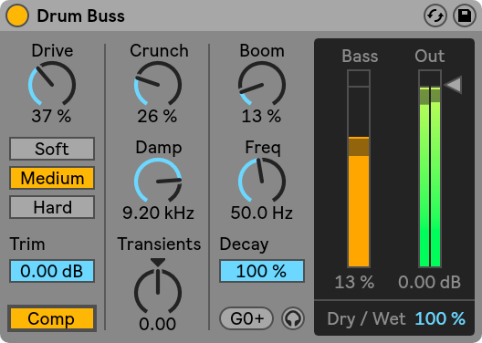 Ableton-Live-10-Drum Buss
