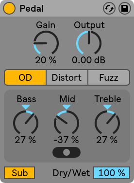 Ableton-Live-10-Pedal
