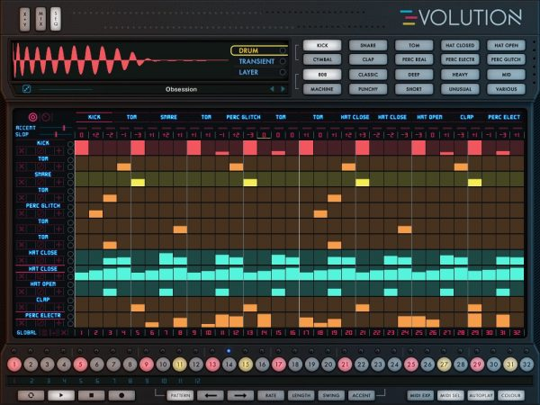 Wave Alchemy Evolution - sequencer