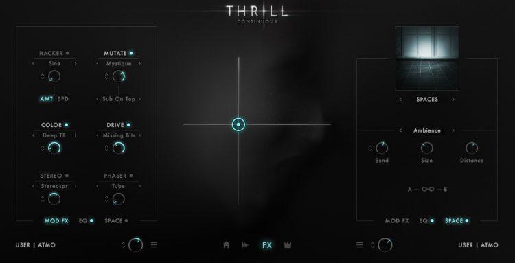 Galaxy Instruments : Native Instruments Thrill - FX
