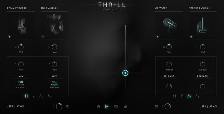 Galaxy Instruments : Native Instruments Thrill - sorgenti sonore