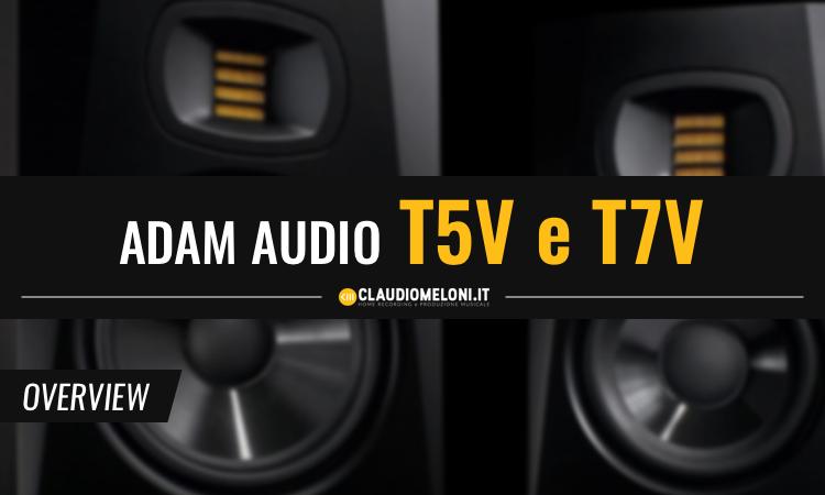 ADAM Audio T5V e T7V - le Migliori Casse Monitor Nearfield entry-level