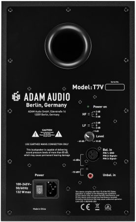 ADAM Audio T7V rear