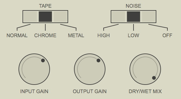 Klevgrand - DAW Cassette - tape noise