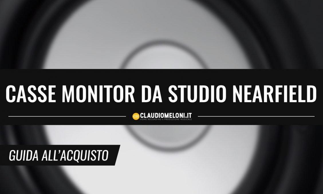 Casse monitor da studio Nearfield economiche - guida acquisto