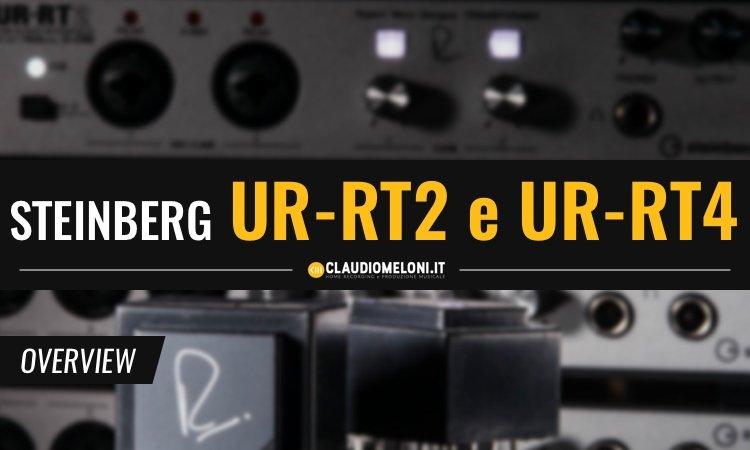 UR-RT2 e UR-RT4 le Schede Audio Steinberg con Trasformatori Rupert Neve Designs