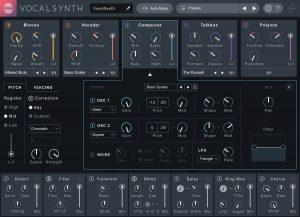 iZotope VocalSynth 2 Recensione - compuvox