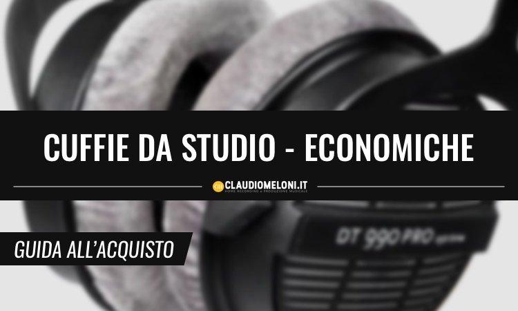 Cuffie da Studio Economiche - Guida all'Acquisto
