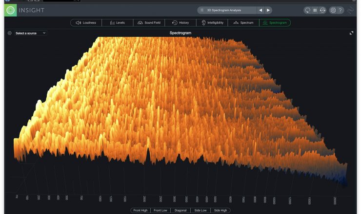 iZotope Insight 2 – spectrogram