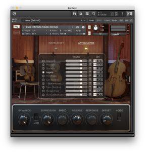 8Dio Intimate Studio Strings - Recensione - Articolazioni 2