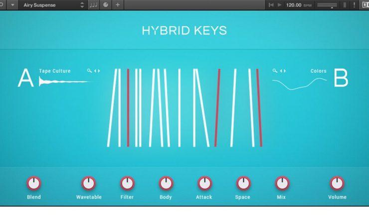 Kontakt 6 – Hybrid Keys