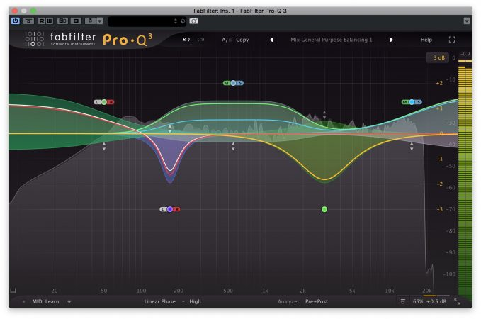 FabFilter Pro-Q 3 - Interfaccia