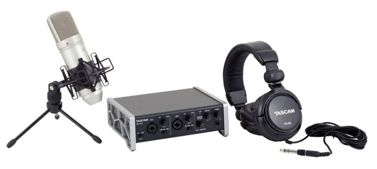 Tascam - Track Pack 2x2 - home studio bundle