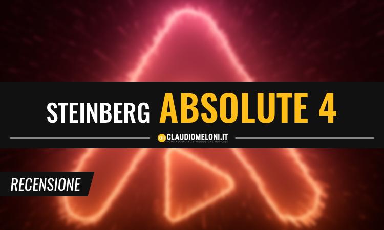 Absolute 4 - la Mega Raccolta di Strumenti Virtuali Steinberg - Recensione