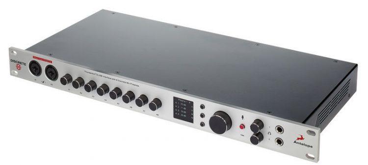 Antelope Discrete 8 - scheda audio 8 preamp