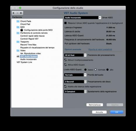 Come Risparmiare CPU e Aumentare le Prestazioni di Cubase - Guida Windows e Mac - Driver Scheda Audio