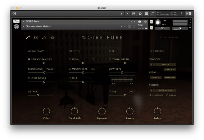 Native Instruments NOIRE - Edit