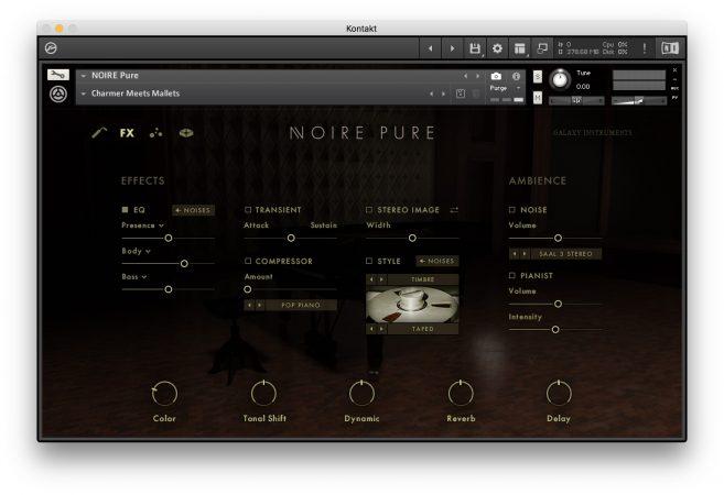 Native Instruments NOIRE - FX