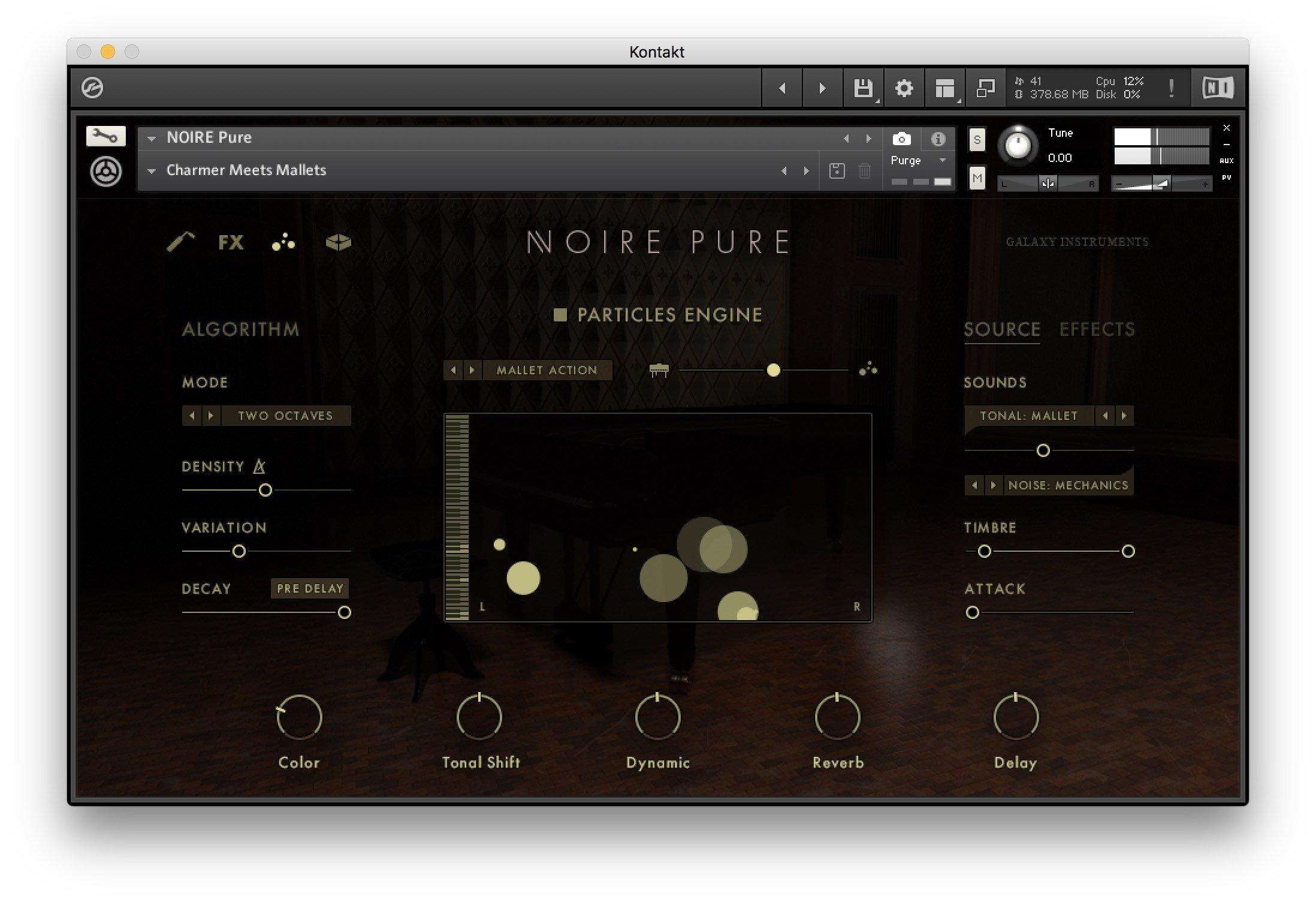 Native Instruments NOIRE - Particles