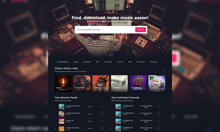 Slooply - Samples e Loops Royalty Free per Musica Elettronica