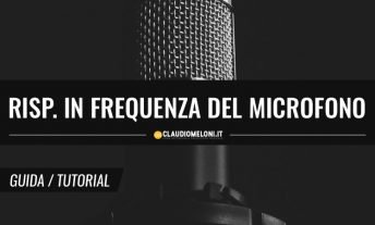 Risposta in Frequenza Microfono