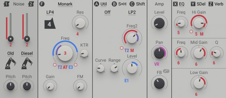 Massive-X-Noise-Filtri-ed-Effetti
