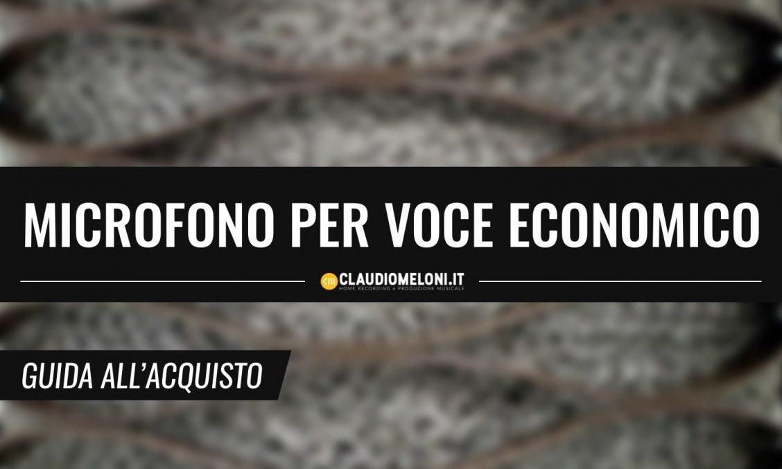 Microfono per Voce Economico