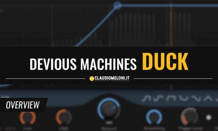 Duck - il Plugin per il Sidechain Ducking