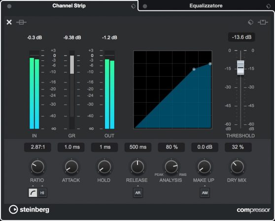 Channel-Strip-Cubase-Standard-Compressor