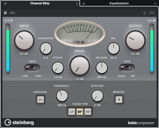 Channel-Strip-Cubase-Tube-Compressor