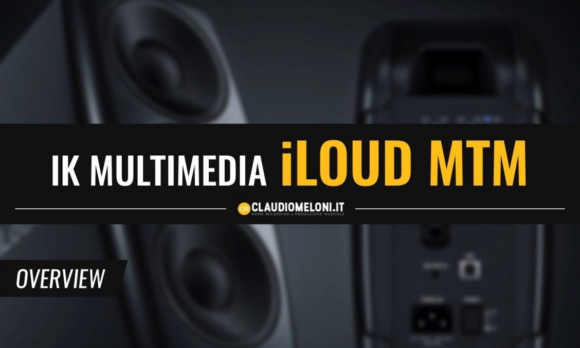 iLoud MTM - le Casse Monitor con DSP per Home Studio di IK Multimedia