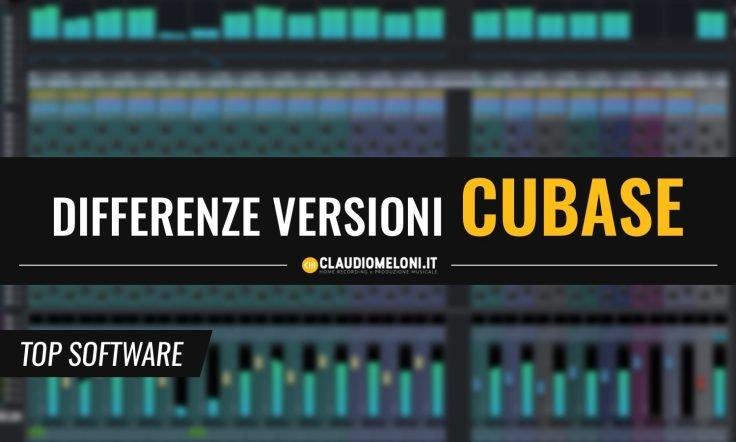 Le Differenze tra le Versioni di Cubase - Pro - Artist - Elements - AI - LE