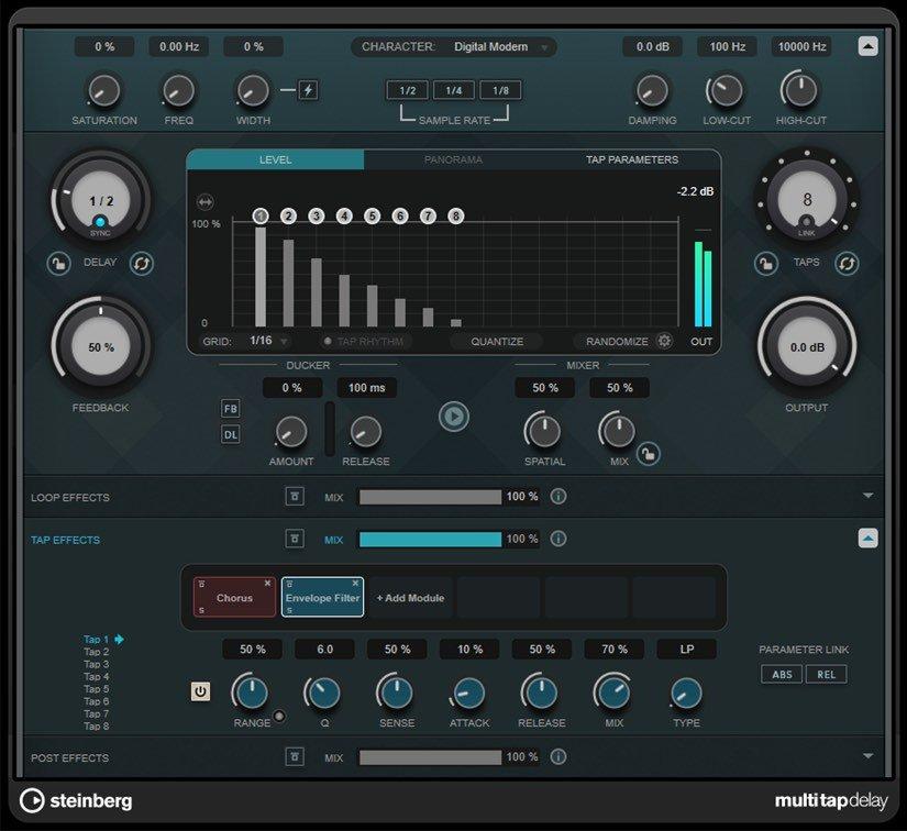 Steinberg-MultiTap-Delay