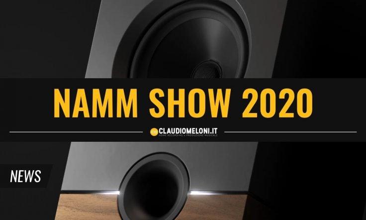 NAMM Show 2020 - le News per Home Studio