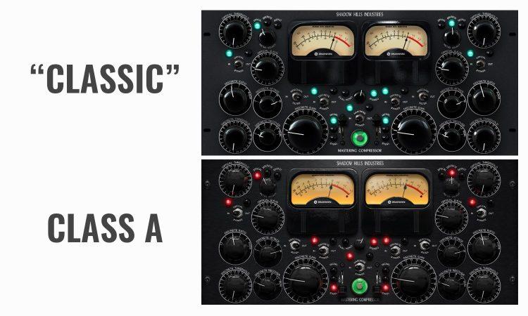 Compressori Shadow Hills Brainworx - Differenze Versioni Plugin