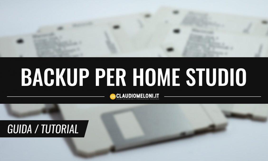 Le Strategie di Backup per l'Home Studio