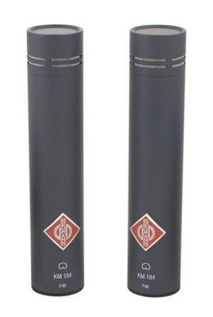 Neumann KM184 - Migliori Microfoni Panoramici Batteria