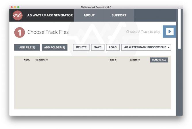AG Watermark Generator - App Home Studio
