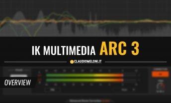 ARC 3 - il Software Plugin per la Correzione Acustica dei Monitor da Studio