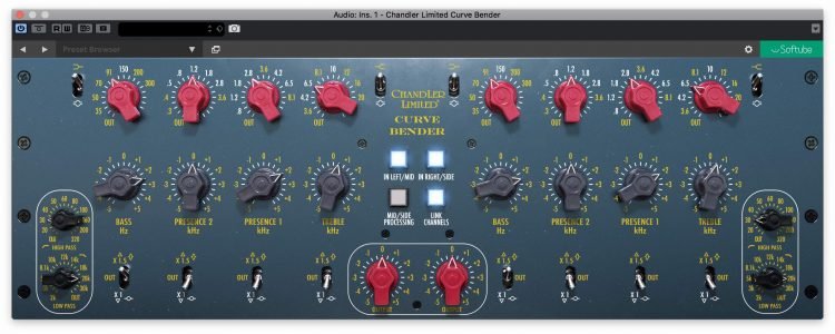 Chandler-Limited-Curve-Bender-Softube-Eq-Plugin