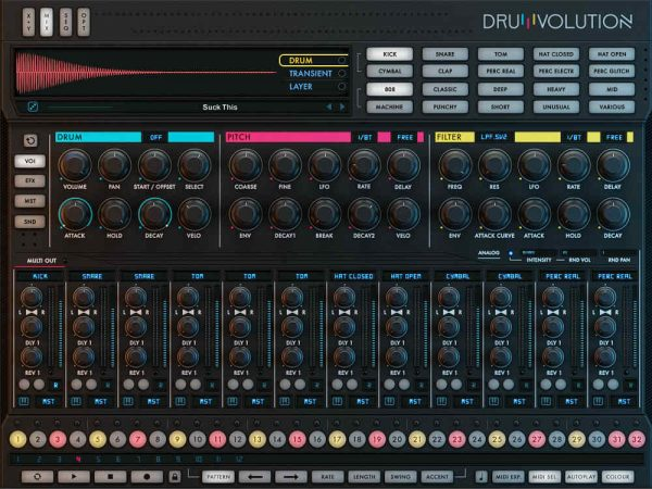 drumvolution - Multi output