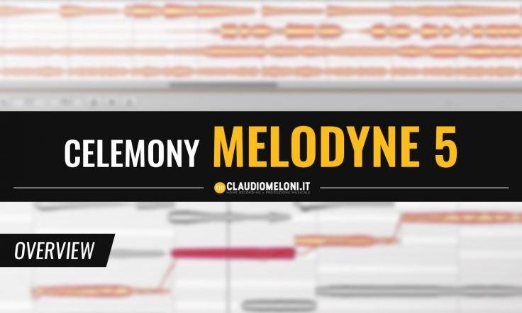 Melodyne 5 - il Software per la Correzione dell Intonazione di Voci e Strumenti