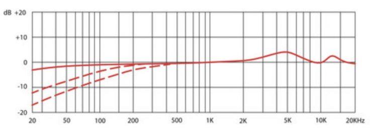 SE Electronics SE 2300 - Risposta in frequenza - figura a 8