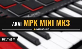 AKAI MPK Mini MK3 - il Controller MIDI Economico più venduto al mondo si aggiorna
